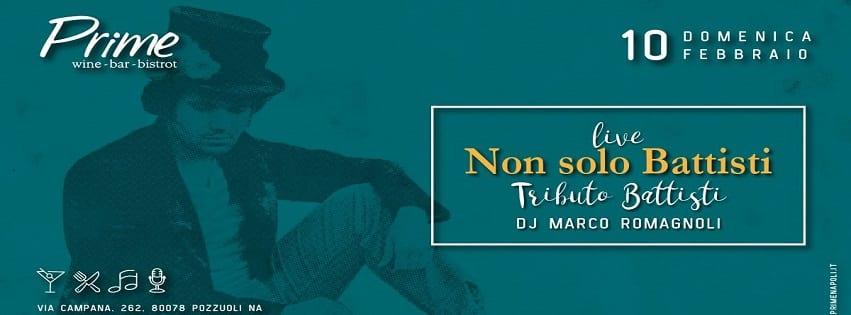 PRIME Pozzuoli - Domenica 10 Feb Live Music e Dj Set