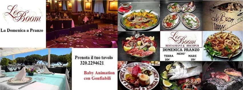 LeBoom Ristorante Pozzuoli - Domenica Pranzo Mare e Monti 25€
