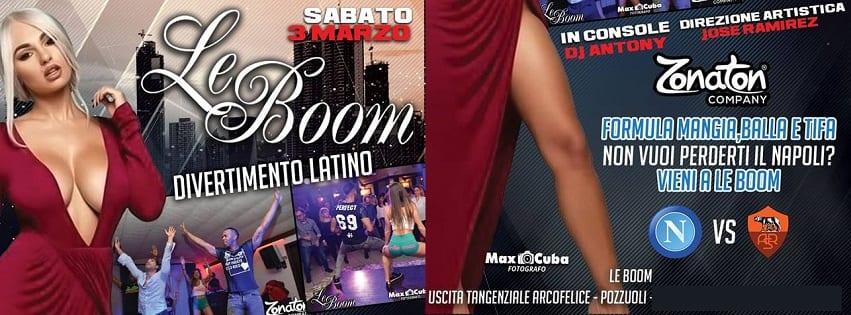 LeBoom Discopub Pozzuoli - Sabato Diretta Napoli e Latino