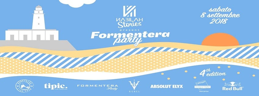 NABILAH Bacoli - Sabato 8 Settembre Formentera Party