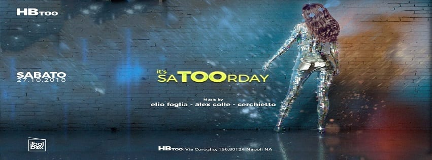 HBTOO Napoli - Sabato 27 Ottobre Exclusive Party