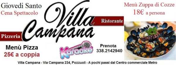 Villa Campana Pozzuoli - Giovedi Santo