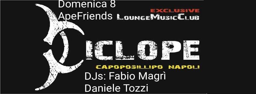 Ciclope Club Posillipo - Domenica 8 Ott Aperitivo free