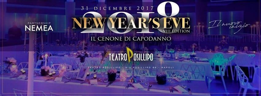 Teatro Posillipo Napoli - Cenone di Capodanno 2018