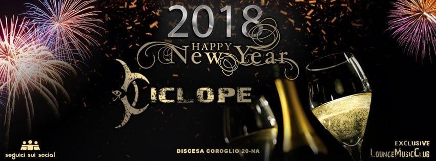 Ciclope Club Posillipo - Cenone e Veglione di Capodanno 2018