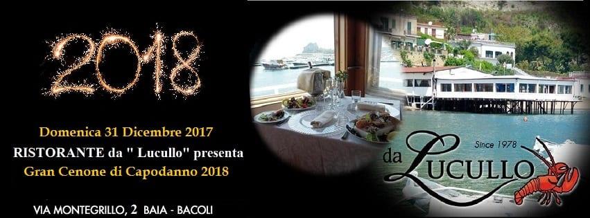 Ristorante Lucullo Bacoli - Cenone di Capodanno 2018