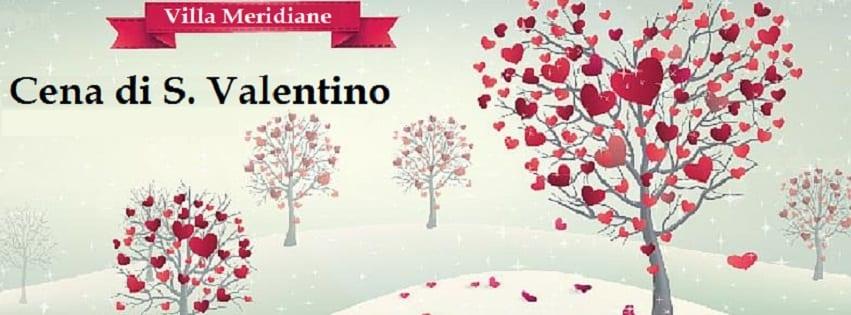 Villa MERIDIANE Napoli - Mercoledi 14 Feb Cena di San Valentino