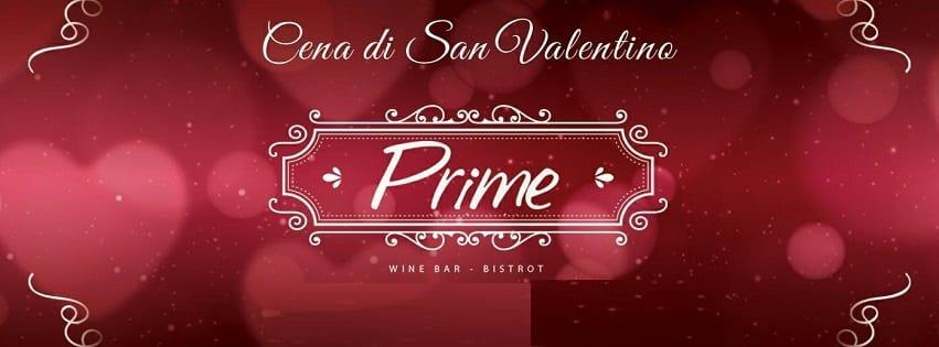 PRIME Pozzuoli - Mercoledi 14 Febbraio Cena di San Valentino