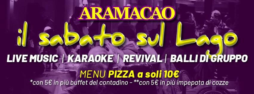 Duscopub Aramacao Pozzuoli - Mangi bevi e balla sul Lago a 10€