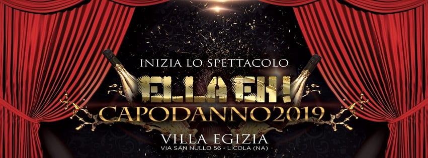 Villa Egizia Pozzuoli - Capodanno Napoli 2019