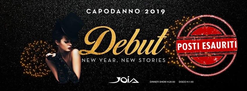 JOIA Napoli - Cenone e Veglione di Capodanno 2019