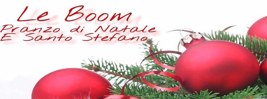 LeBoom Ristorante Pozzuoli - Pranzo di Natale e Santo Stefano