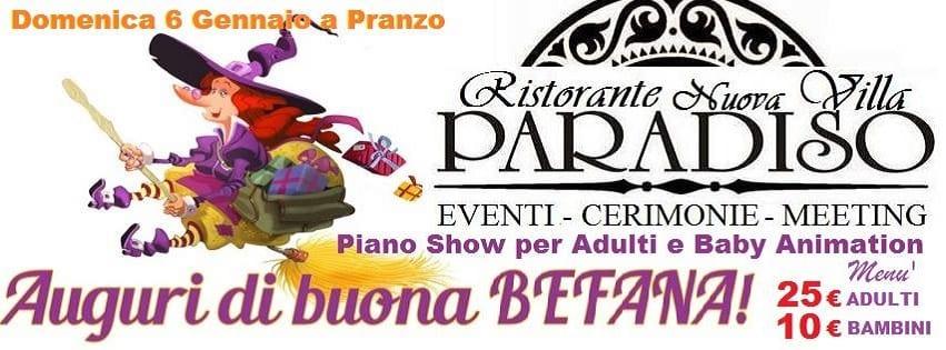 VILLA Paradiso Pozzuoli - Domenica 6 Gennaio a pranzo