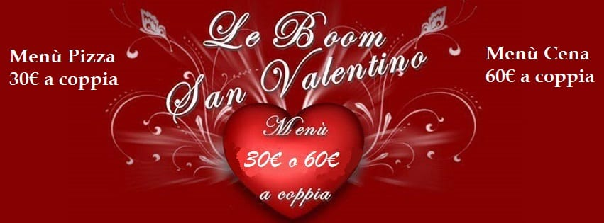 LeBoom Ristorante Pozzuoli - Cena di San Valentino 60€ a coppia