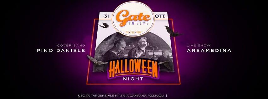 Gate 12 Pozzuoli - Giovedì 31 Ottobre Halloween Party