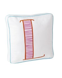 Schoolhouse Letter Pillow - Serena & Lily