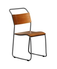 Metal Frame Plywood Dining Chair - Chinese Wholesale ...