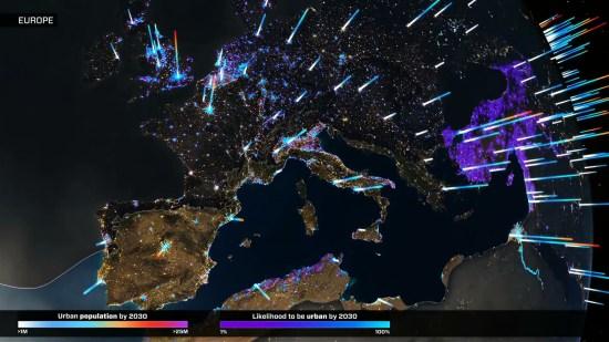 An Urbanizing Planet Europe 4