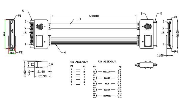 usb to serial pin diagram