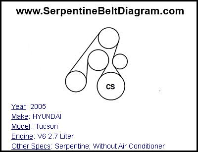 hyundai tucson 2 7 engine diagram