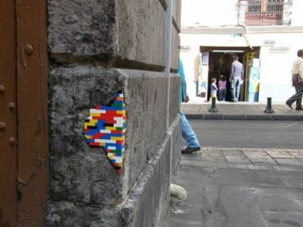 Lego Ditembok Bangunan