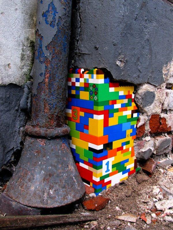 Lego Sebagai Penyangga