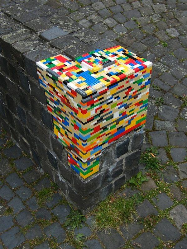 Menjadikan Lego untuk Tempat duduk