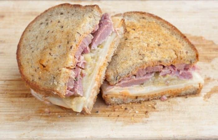 From Scratch Reuben Sandwich
