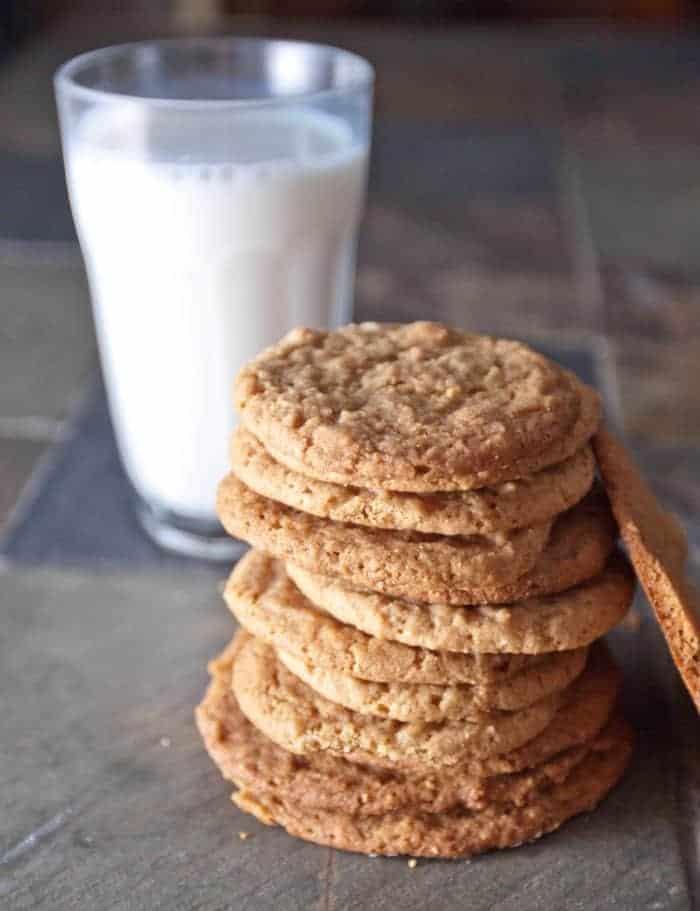 Egg Less Peanut Butter Cookies