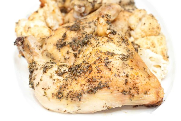 Easy Herbed Chicken Legs - delicious and low maintenance!