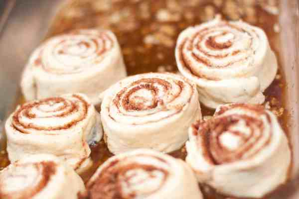 Sourdough Walnut Cinnamon Rolls from Scratch