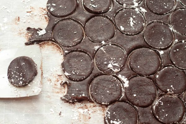 Your favorite Girl Scout Cookie: Thin Mints made at home From Scratch!