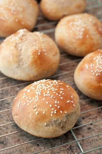 From Scratch Hamburger Buns!