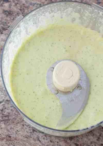 From Scratch Garlic Aioli dipping sauce