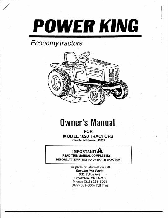 1959 Jim Dandy Economy Tractor - Best Description About Economy