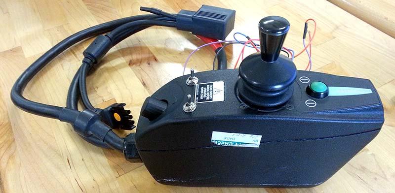 Hardware Hacking a Power Wheelchair Control Module Servo Magazine