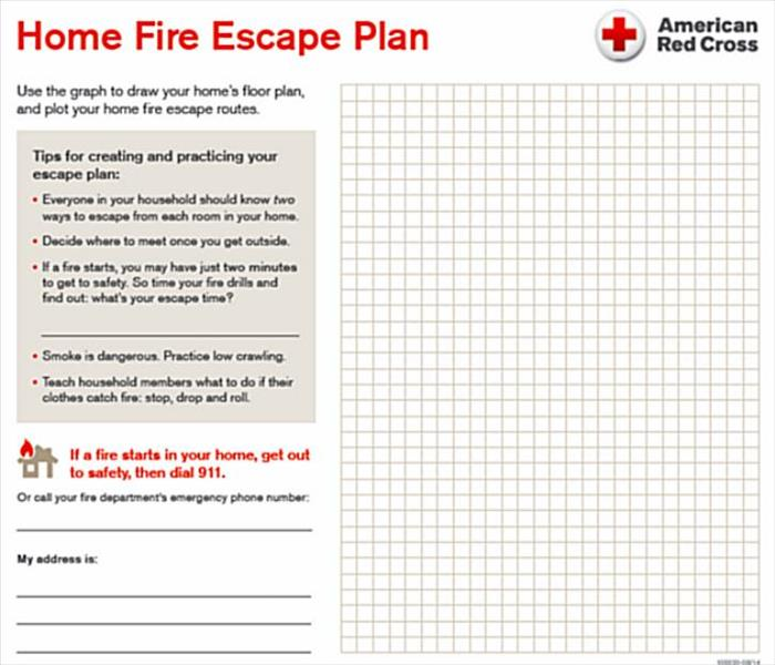 The Importance of a Fire Evacuation Plan For Your Home SERVPRO of