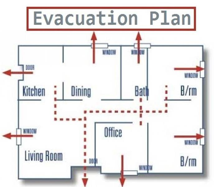 Why it\u0027s Important to Have a Fire Evacuation Plan SERVPRO of