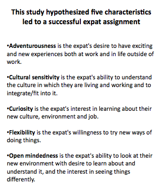 Characteristics of Successful Expatriates Unleashing Success by - characteristics of great employees