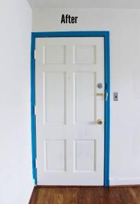 How To Paint Door Frames