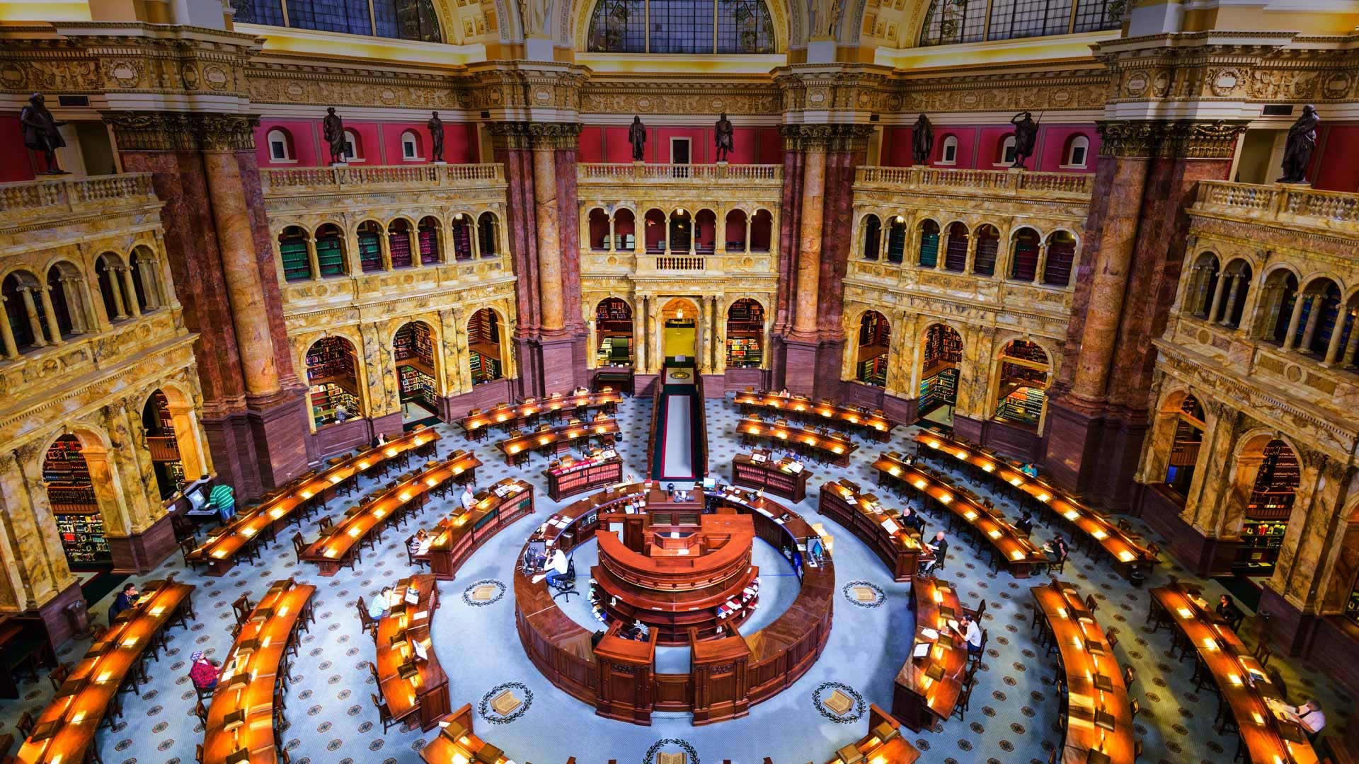 Iphone X Wallpaper For Note 8 Main Reading Room Of The Library Of Congress Washington Dc