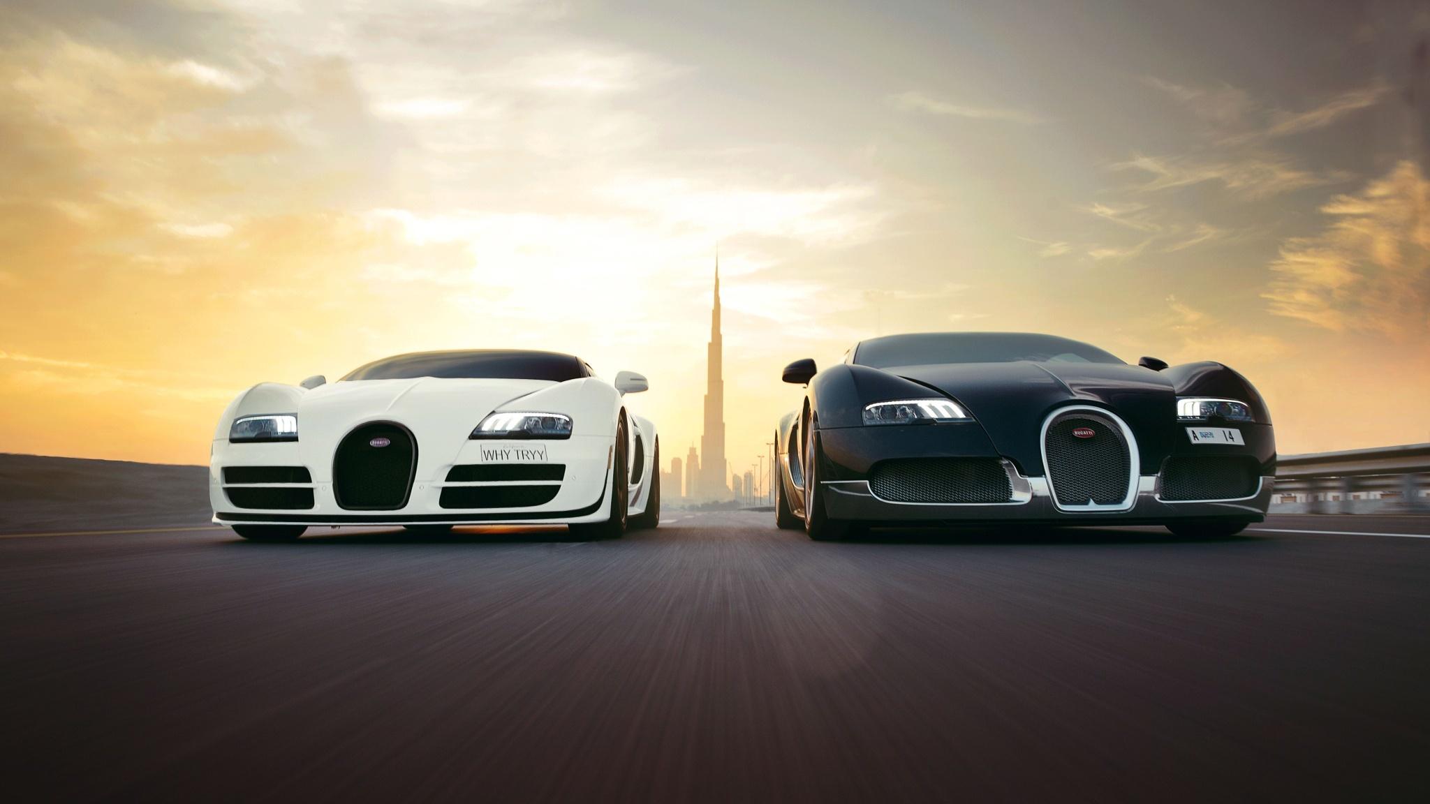 Super Cars 3d Wallpapers Bugatti Veyron Wallpaper 49 2048x1152