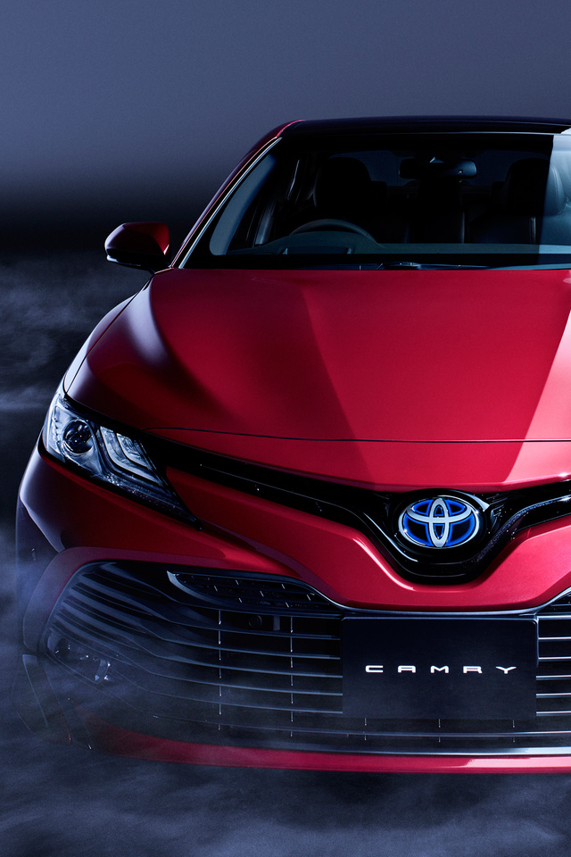 Toyota Camry Hd Wallpapers Toyota Camry 2018 93 Wallpaper 640 X 960