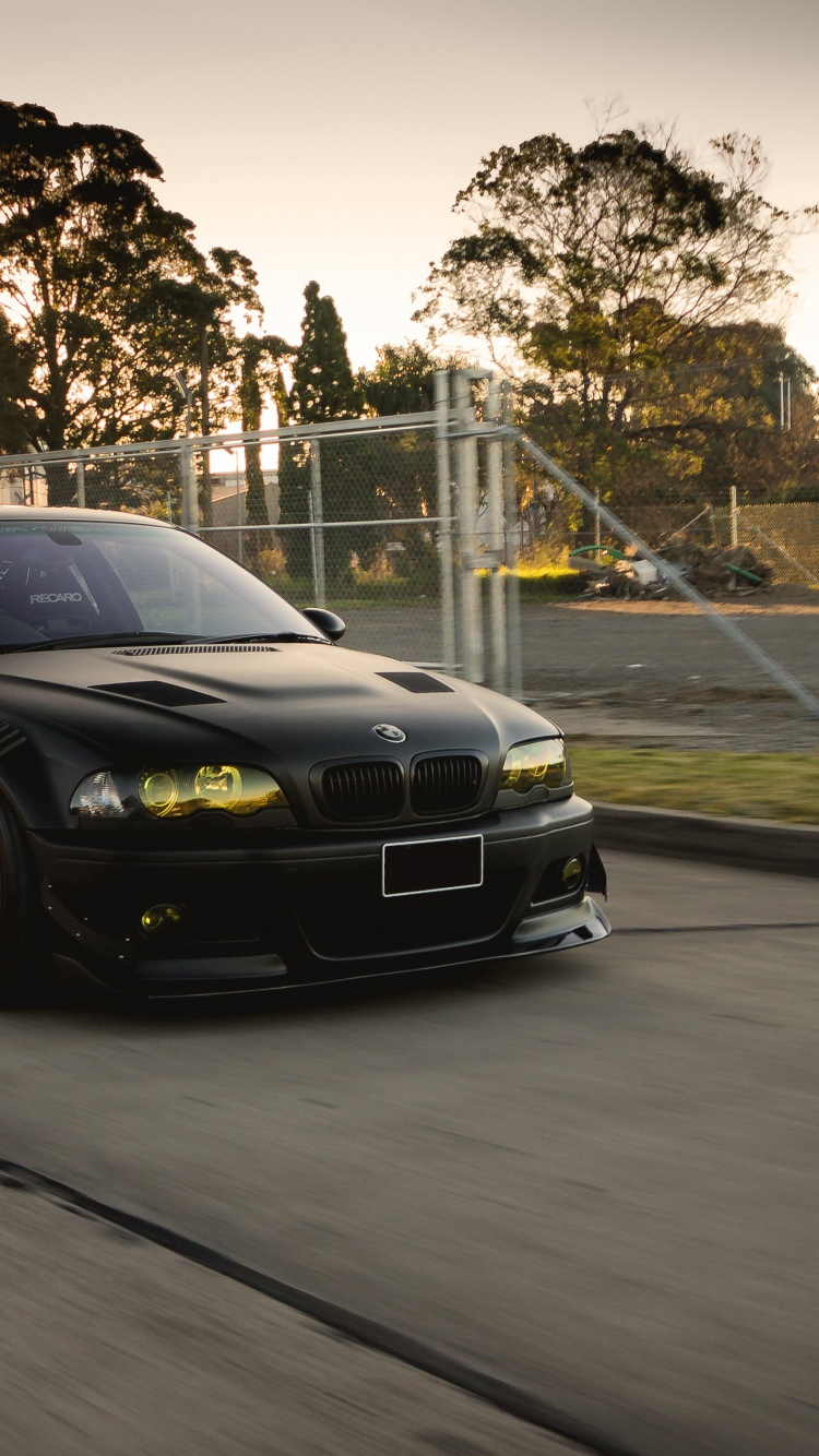 Bmw M Wallpaper Iphone X Bmw Black M3 E46 Tuning