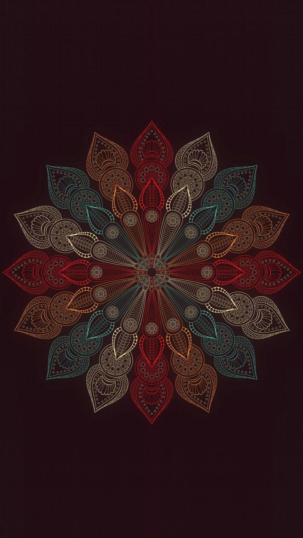 Car And Bikes Wallpapers Free Download Mandala Flower Wallpaper 1080x1920