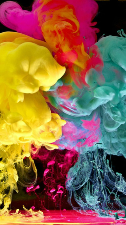 Islamic Wallpaper Hd Download Full Cool Colorful Smoke Wallpaper 1440x2560