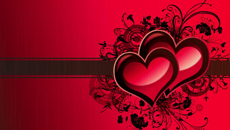 Wallpaper 3d Nature 1280x1024 Love Heart Wallpaper 05 1360x768