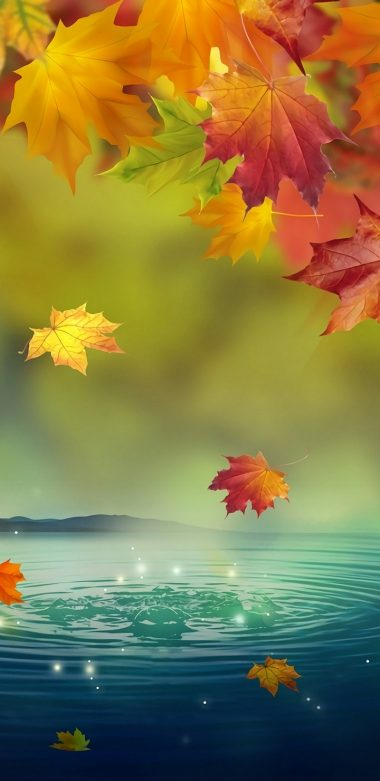 Fall Landscape Wallpaper Desktop Samsung Galaxy A6 2018 Wallpapers Hd
