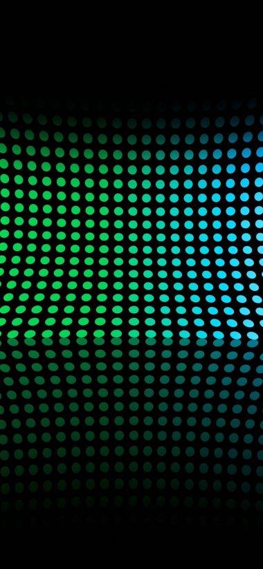 Car 1440p Phone Wallpaper Abstract Multicolor Circles Rainbows 1080x2340