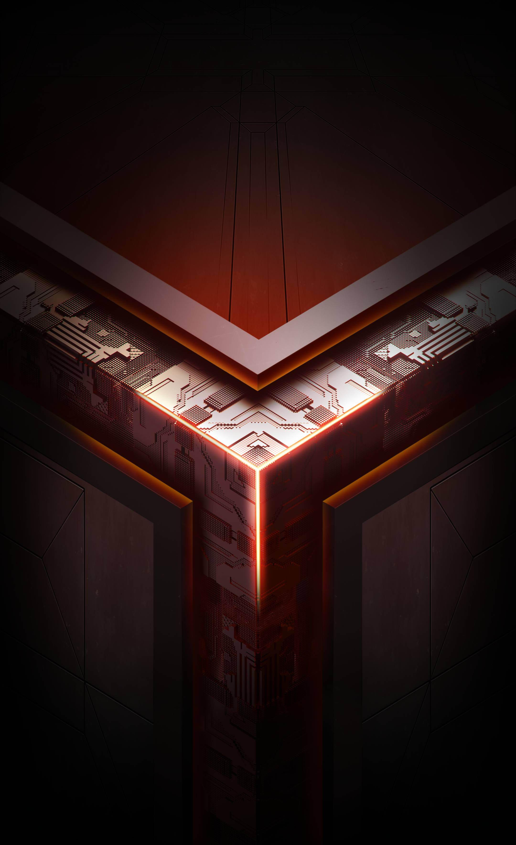 3d Wallpapers For Windows 7 1366x768 Asus Rog Phone Stock Wallpaper 04 2160x3535